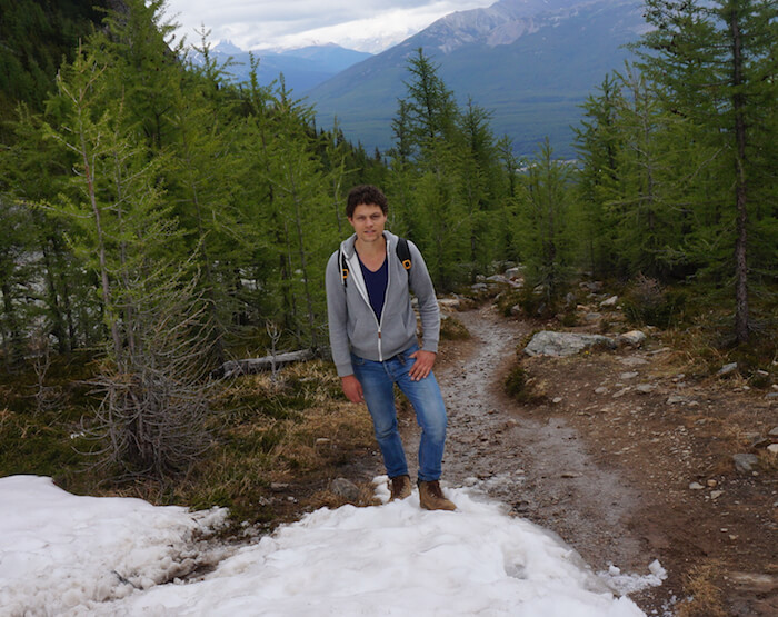 Jelle Bekirovic - Founder of TreeClicks & FlyGRN